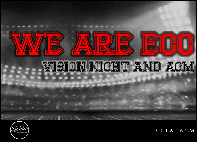We are ECC – Vision Night and AGM