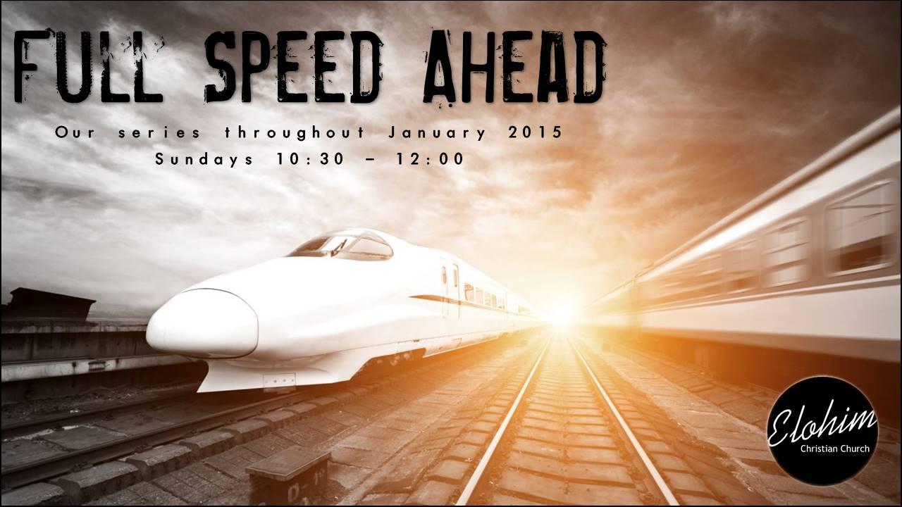 Full Speed Ahead – Week 2
