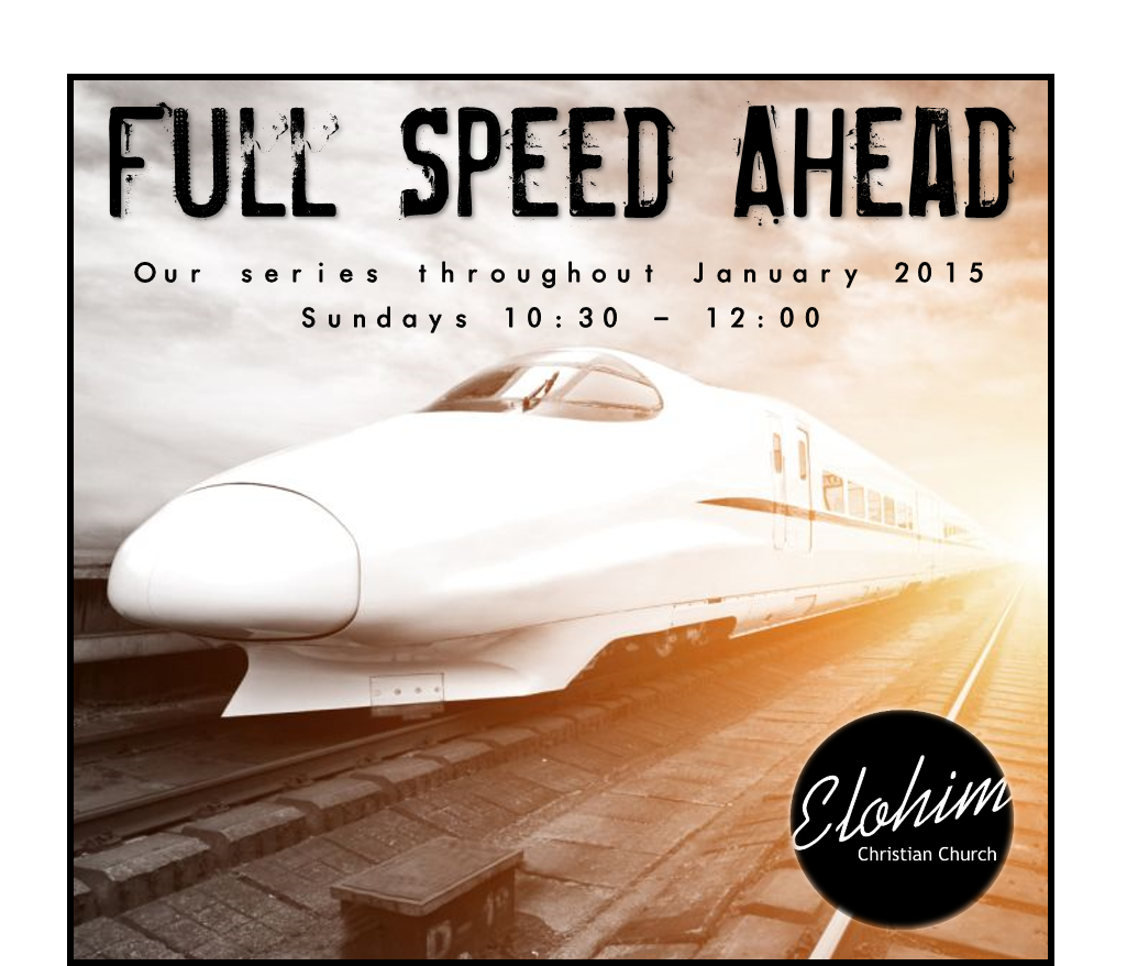 Full Speed Ahead – Week 4